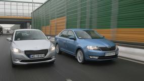 Peugeot 301 kontra Skoda Rapid: limuzyny małego formatu