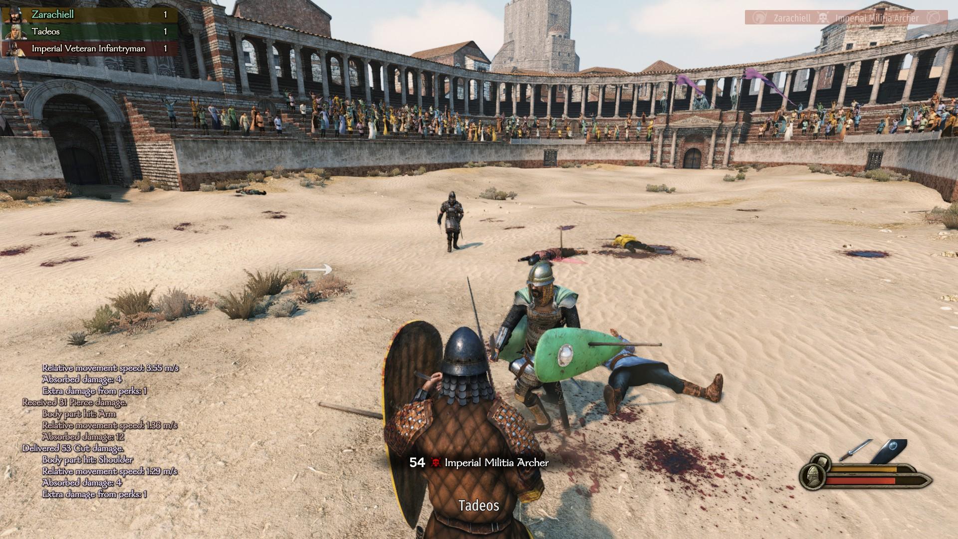 Zruční bojovníci si vedia v arénach dobre privyrobiť.