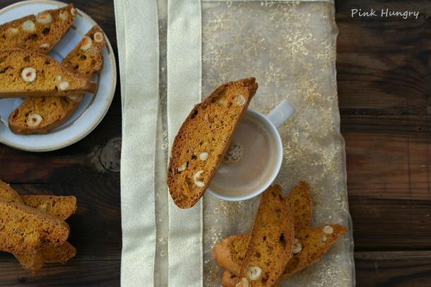 Dyniowe biscotti włoskie ciasteczka do aromatycznej kawy