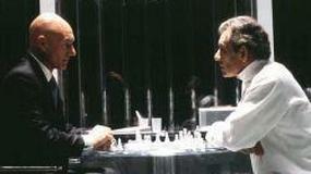 """Magneto oraz Xavier w """"Kupcu weneckim"""""""