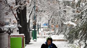 Śnieg sparaliżował Teheran