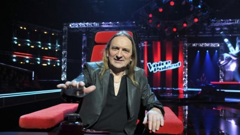 "Marek Piekarczyk w ""The Voice of Poland"" (fot. TVP)"