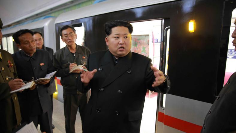 Kim Dzsong Un ballisztikus rakétákkal próbálja célba juttatni az atomtölteteket /Fotó: Northfoto