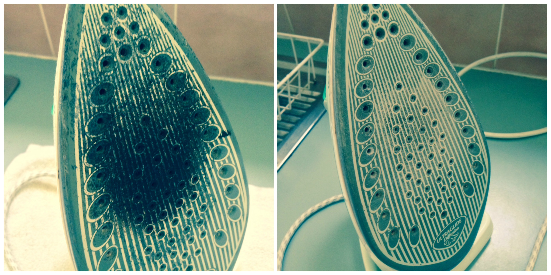 Почистить утюг в домашних условиях зубной 971