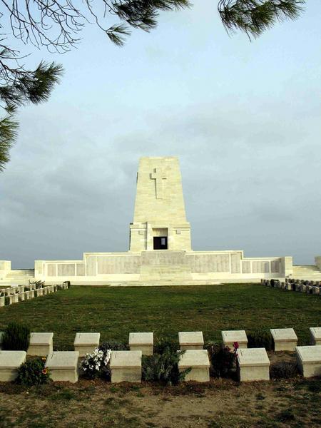 Cmentarz wojenny na półwyspie Gallipoli. Najpiękniejsze miejsca Turcji