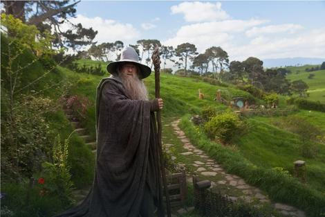 "Ser Ijan Mekelen kao gandalf u filmu ""Hobit"""