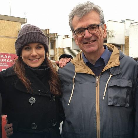 Humano: Sara Vejn Kalis je u Srbiji posetila centar za migrante