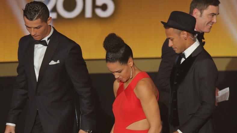 Ronaldo (balra) egyáltalán nem utálja Neymart, a rivális csapat ászát /Fotó: Profimedia/Red Dot