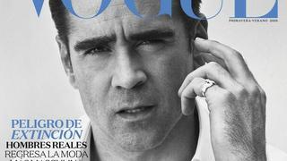 """Colin Farrell hipnotyzuje spojrzeniem na okładce """"Vogue'a"""""""