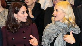 Księżna Kate Middleton w świetnym płaszczu na oficjalnym spotkaniu. Piękna!