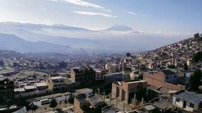 Boliwia - ulice La Paz
