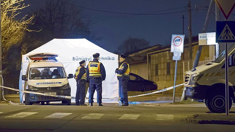 A késelő a XVIII. kerületi Ráday utcánál szúrta le áldozatát / Fotó: MTI - Lakatos Péter