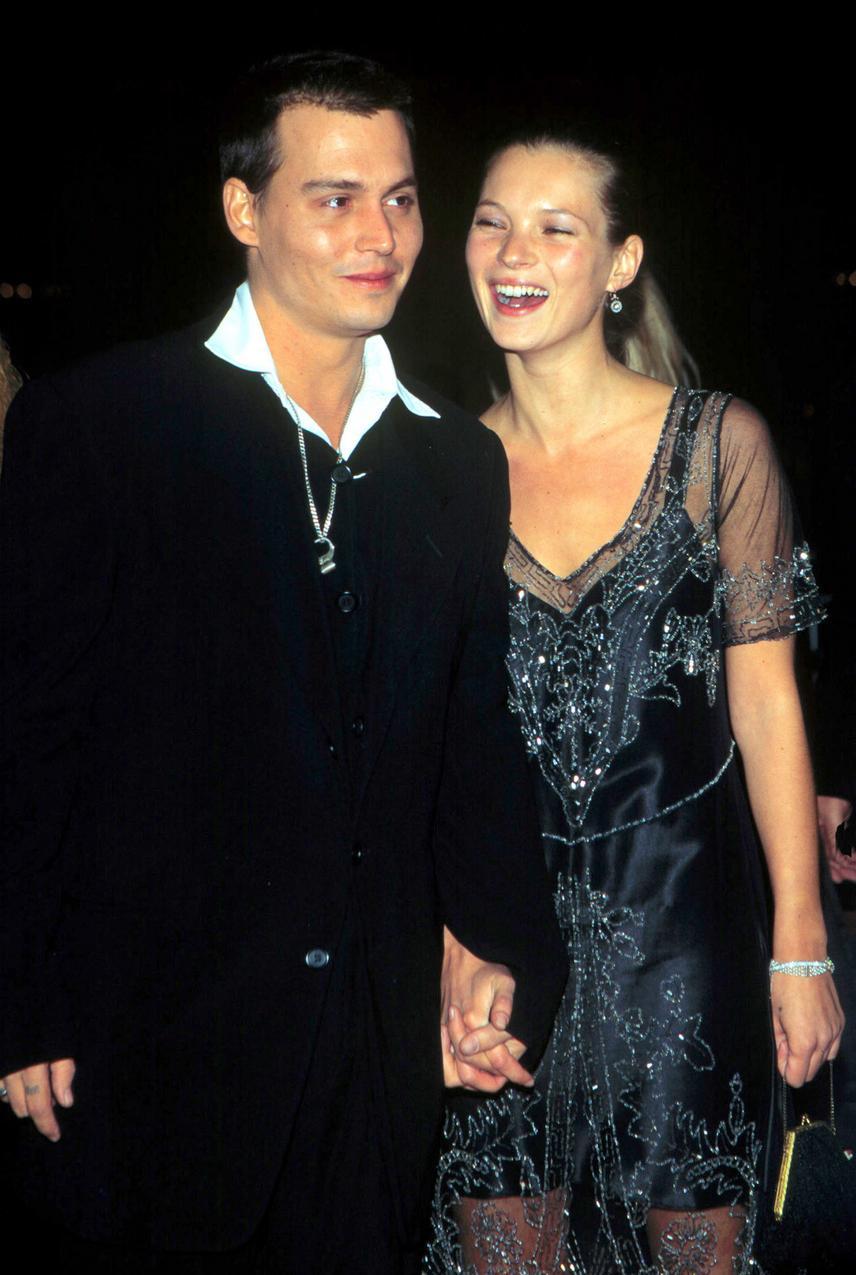 Kate Moss i Johnny Depp