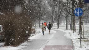W Krakowie obfite opady śniegu. Zobacz zdjęcia!