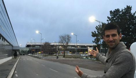 KONAČNO KOD KUĆE Đoković stigao u Beograd /FOTO/
