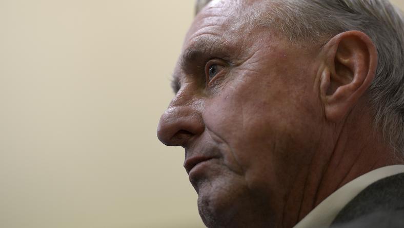 Johan Cruyff /Fotó: AFP
