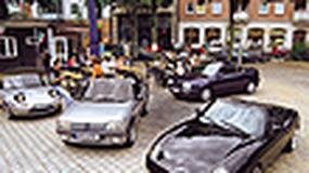 Fiat Barchetta, Mazda MX-5, Peugeot 205, VW Golf - Cabrio na początek