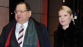 Ryszard Kalisz ma piękną żonę. Zobaczcie na jej nogi!