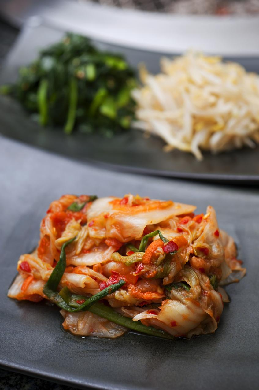Kimchi - koreańska kapusta kiszona