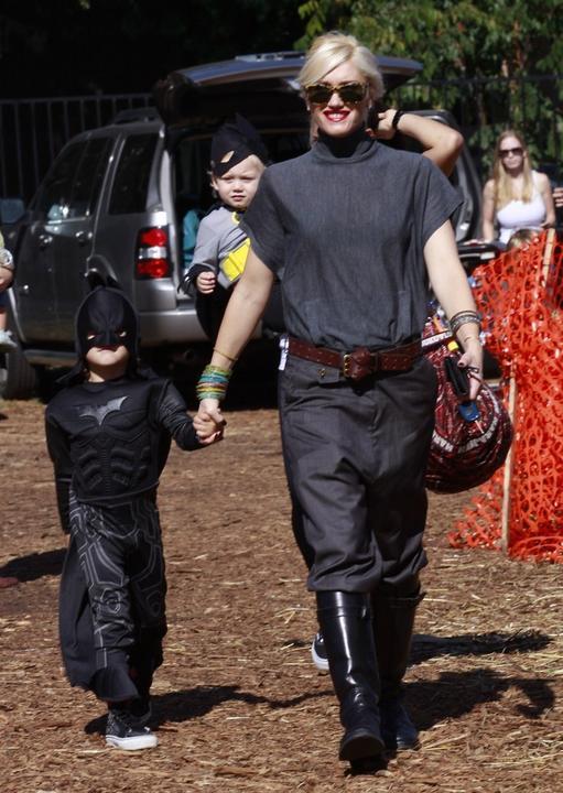 Najlepsze przebrania dzieci gwiazd na Halloween Gwen Stefani