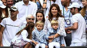 Rodzinne wsparcie Rogera Federera na finale Wimbledonu