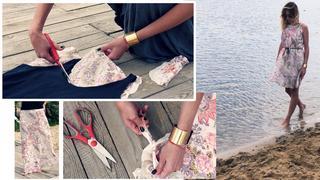 Modowe Origami: Jak przerobić spódnicę na sukienkę?