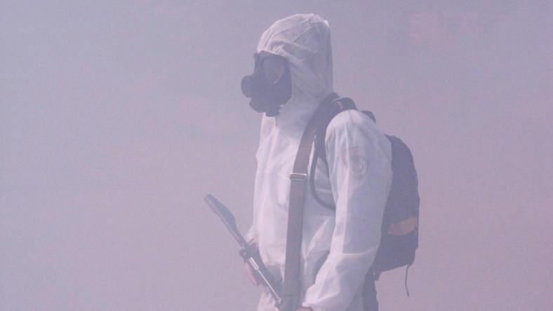 Mustárgázt és klórgázt is bevethetett az Iszlám Állam (illusztráció) / Fotó: Northfoto