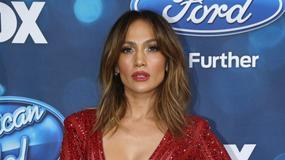 Gorąca Jennifer Lopez w czerwonym kombinezonie