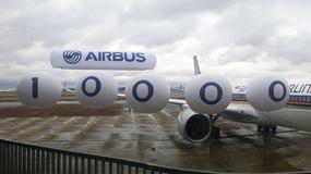 Kamień milowy w historii europejskiego przemysłu lotniczego. Airbus świętuje przekazanie 10.000 samolotu