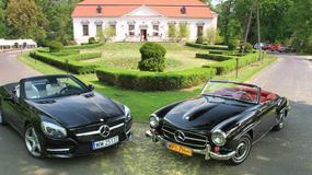 Jak zmienił się Mercedes SL?