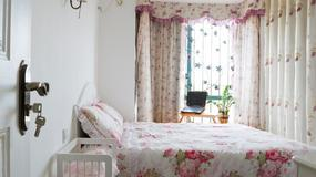 Sypialnia w wiosennych kolorach