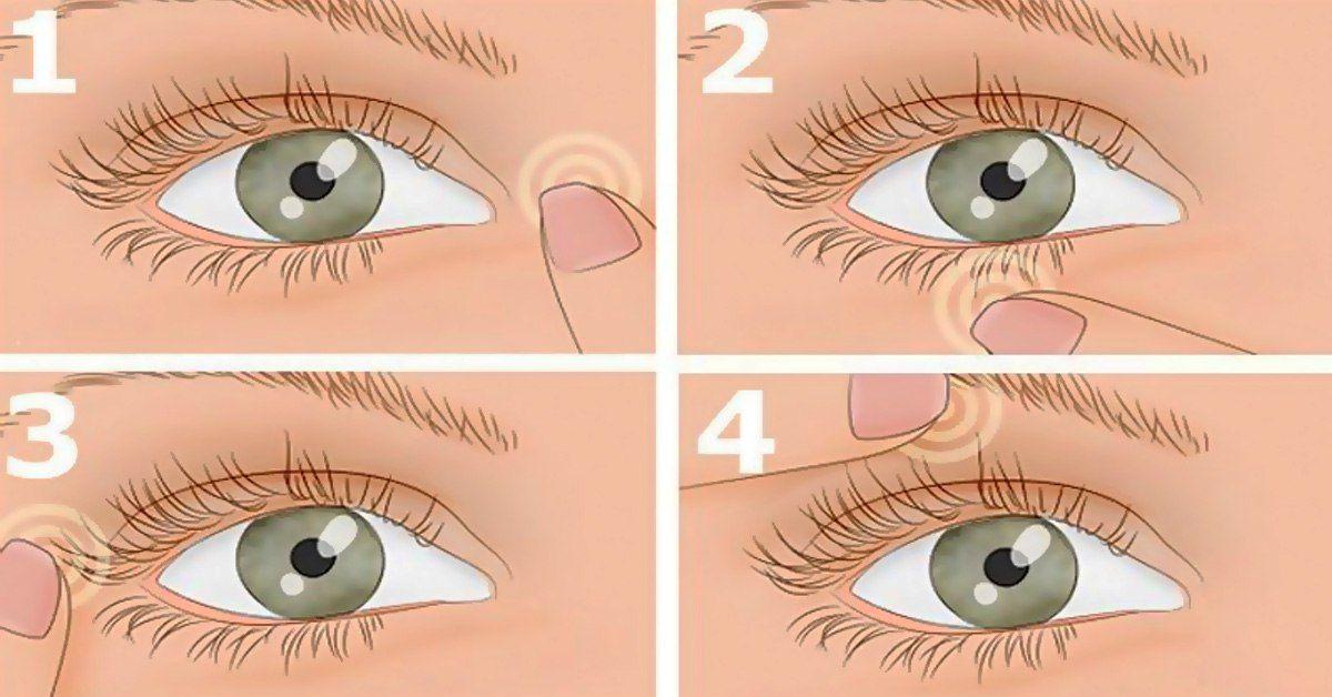 homályos látás és a szem vörössége)