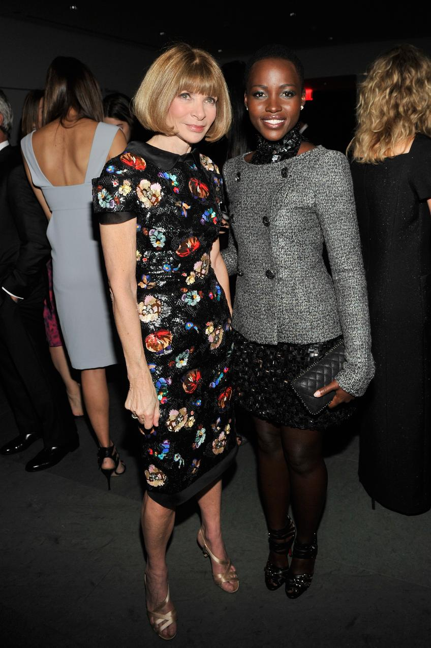 Lupita Nyong'o i Anna Wintour / Getty Images