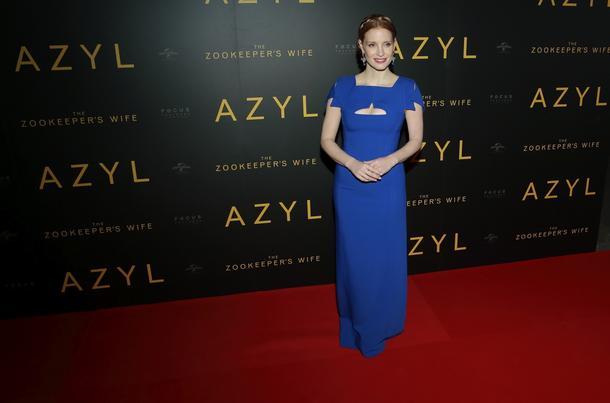 Best Look: Jessica Chastain w sukni Antonio Berardi