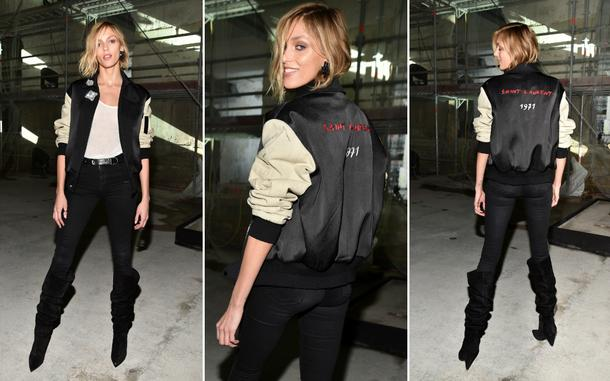 Best Look: Anja Rubik w zestawie Yves Saint Laurent