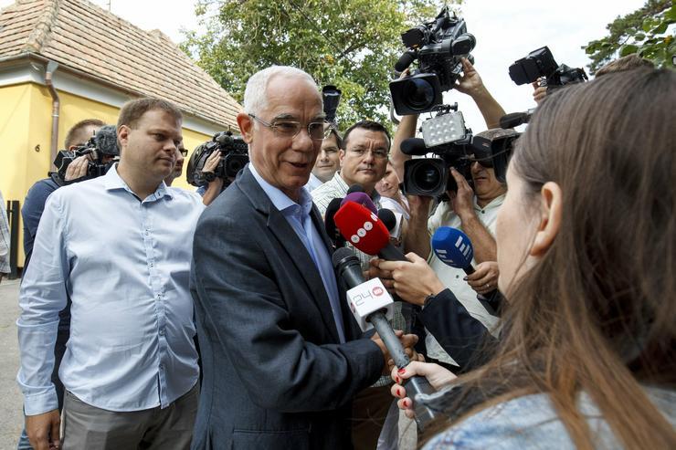 Balog Zoltán, a Polgári Magyarországért Alapítvány kuratóriumi elnöke /Fotó: MTI-Varga György