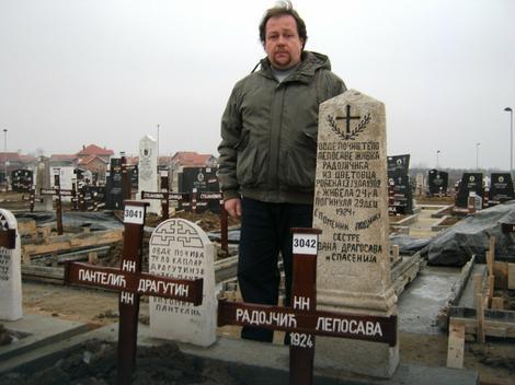 Goran Pantelić na novom groblju