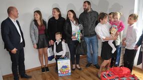 Dom Dużej Rodziny w Szczecinie. Dziesięcioosobowa rodzina odebrała klucze