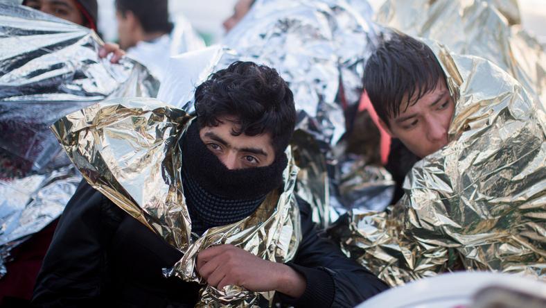 Átfagyva - a hideg tengeren teljesen átfagytak a migránsok /Fotó: MTI