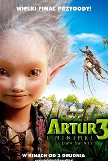 Artur i Minimki 3. Dwa światy
