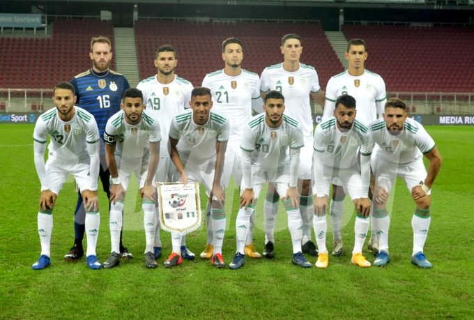 Algeria were the better side all through the game (Twitter/DZfoot English)