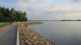 Nielisz - zalew w Lubelskiem będzie atrakcyjny turystycznie; powstało kąpielisko, molo, przystań żeglarska
