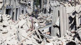 Amatrice po trzęsieniu ziemi - włoskie miasto ruin