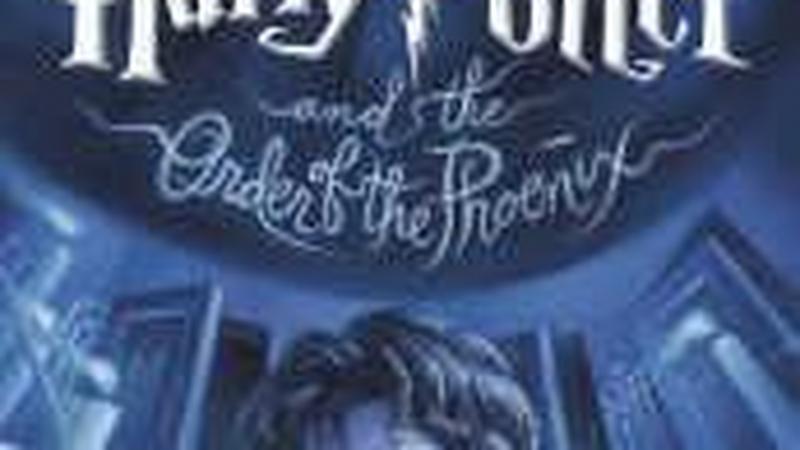 Okładka piątego tomu przygód Harry'ego Pottera