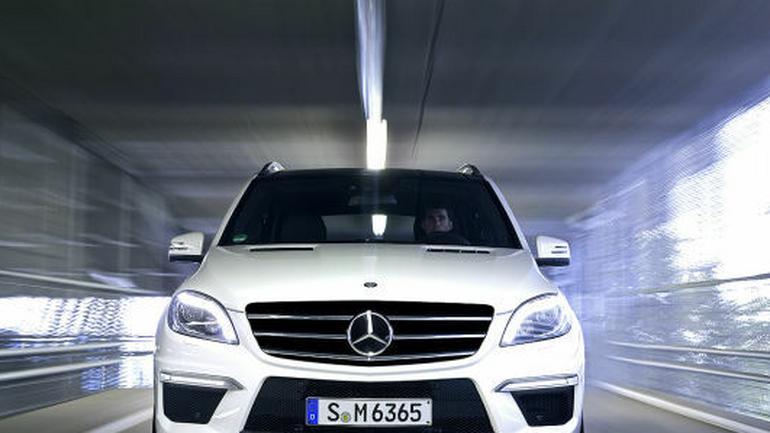Mercedes ML 63 AMG: SUV na ostro
