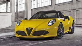 Alfa Romeo 4C Spider – premiera w Detroit