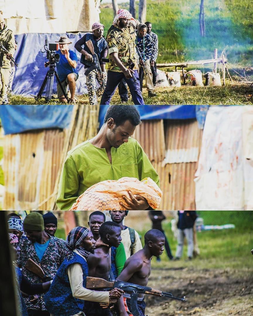 Scenes from 'Voiceless' move [Instagram/theadamgarba]