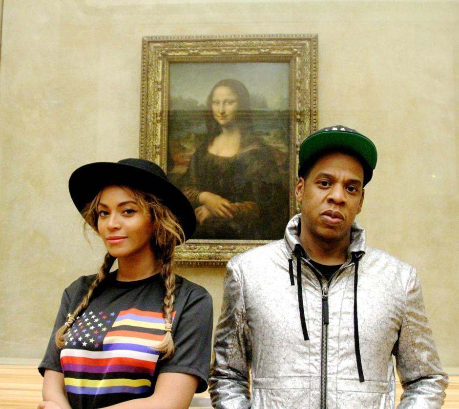 Beyoncee, Jay Z i... Mona Lisa