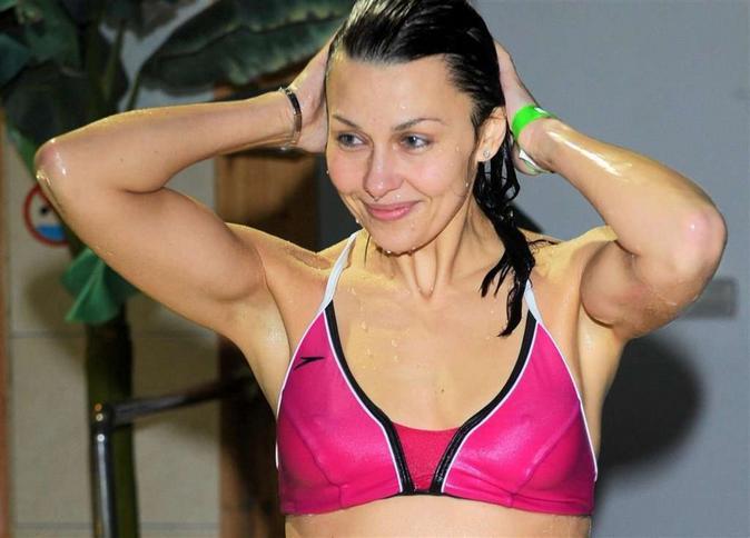 Ania Popek prawie nago! Wideo