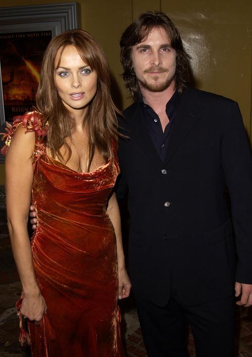 Izabella Scorupco i Christian Bale Christian Bale
